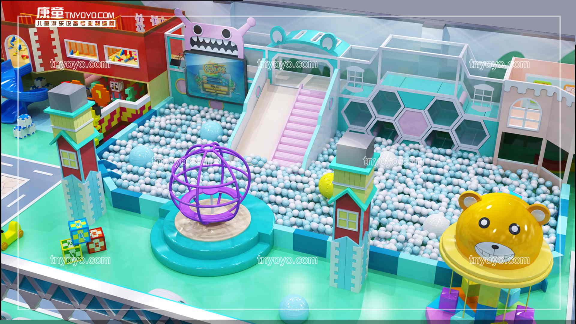 購置一整套室內兒童游樂場設備多少錢