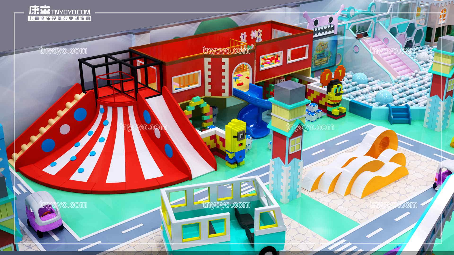 在三線城市開一個小型淘氣堡樂園要多少錢?