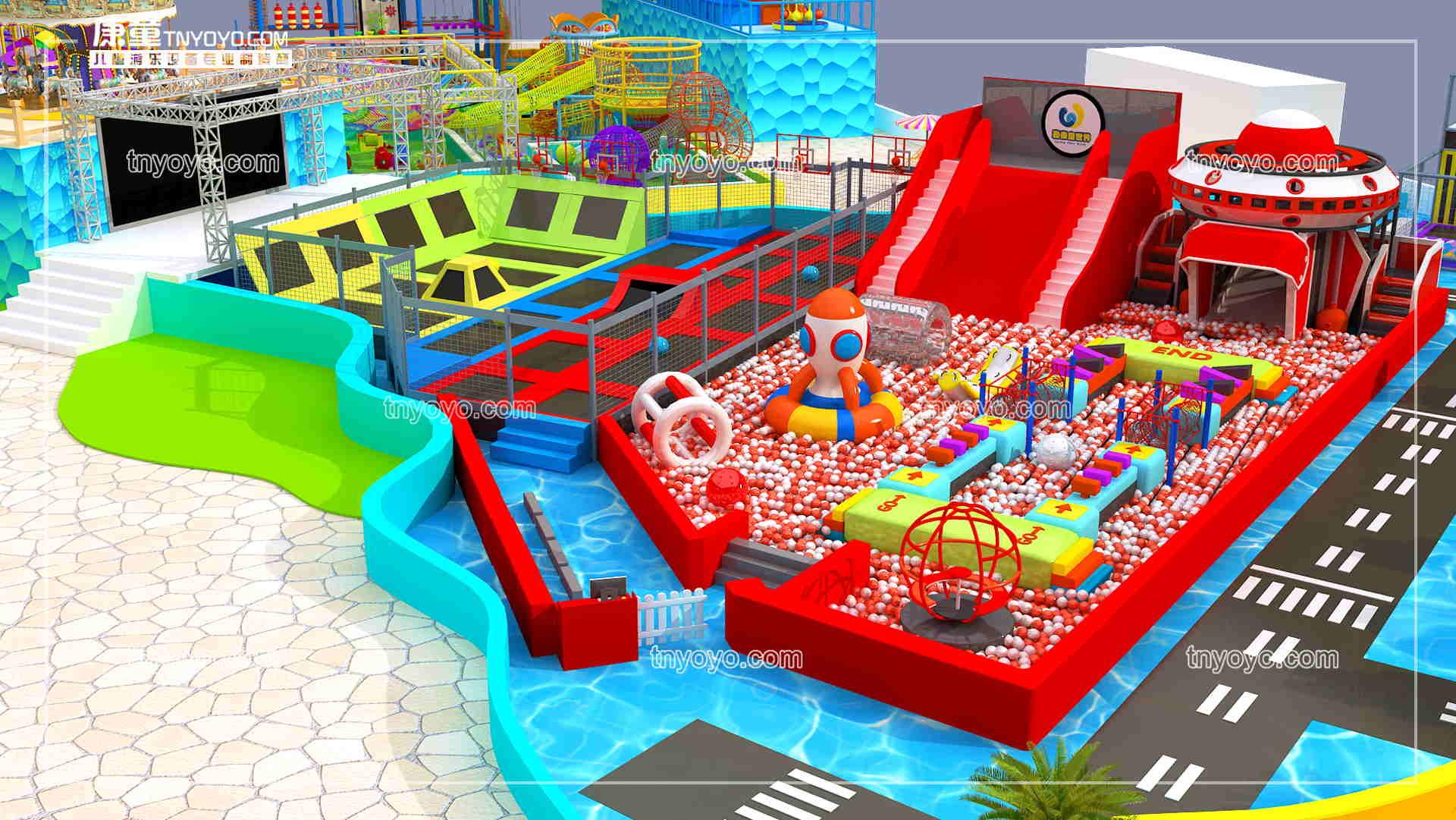 做兒童樂園自己開,還是加盟兒童樂園品牌好?