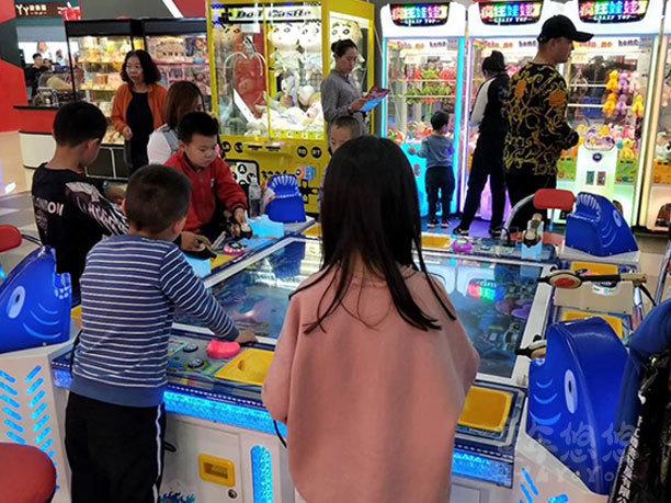 童年悠悠兒童主題樂園招商加盟案例山西大同星際夢工廠