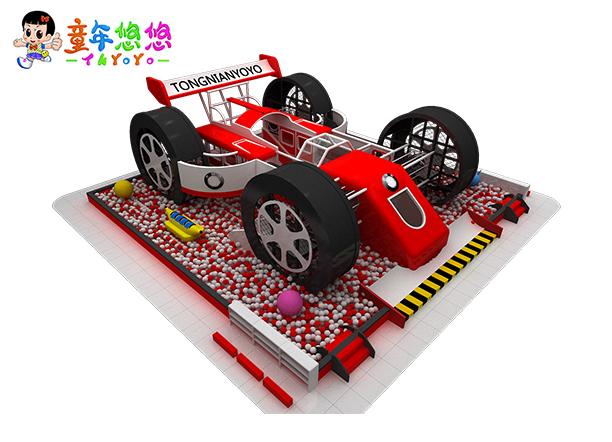 廣州康童游樂 跑車主題淘氣堡