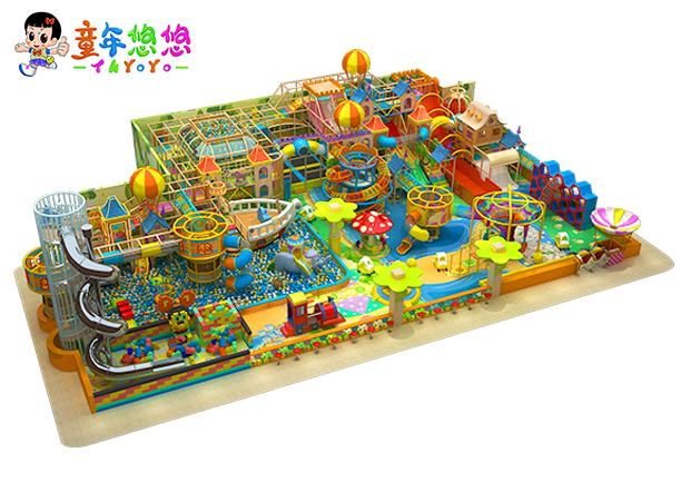 廣州康童主題淘氣堡樂園