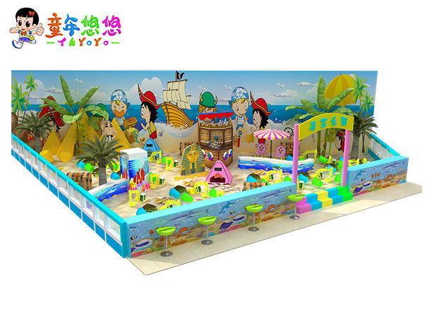 室內兒童樂園賺錢嗎?200平方淘氣堡的利潤多少錢?