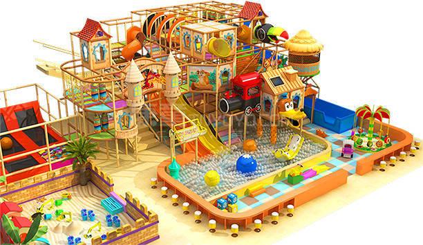 河南焦作考拉城堡兒童主題樂園設計效果圖