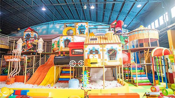 河南焦作考拉城堡兒童主題樂園淘氣堡實景圖