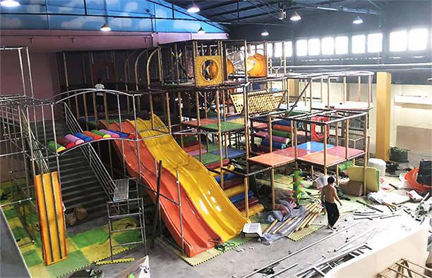河南焦作考拉城堡兒童主題樂園項目施工安裝