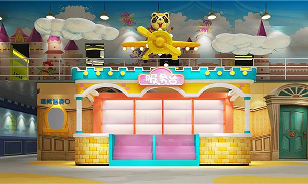 河南焦作考拉城堡兒童主題樂園環境藝術設計
