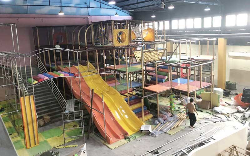 「安裝現場」考拉城堡兒童樂園