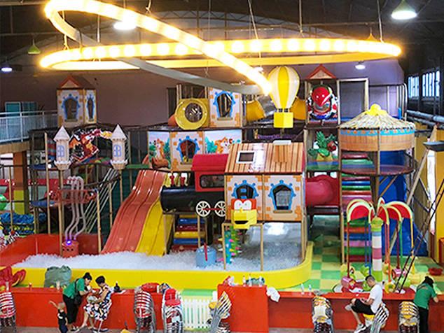 「定制案例」河南焦作考拉城堡儿童主题乐园