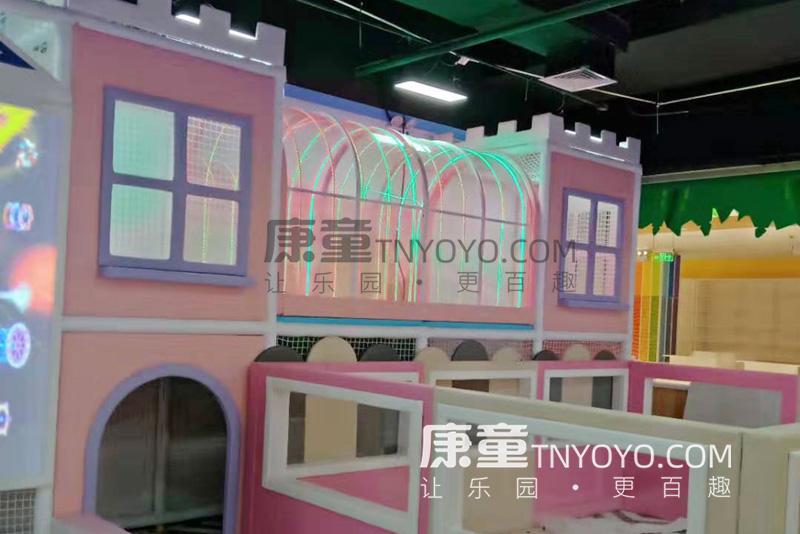 「定制案例」浙江二店主题儿童乐园项目