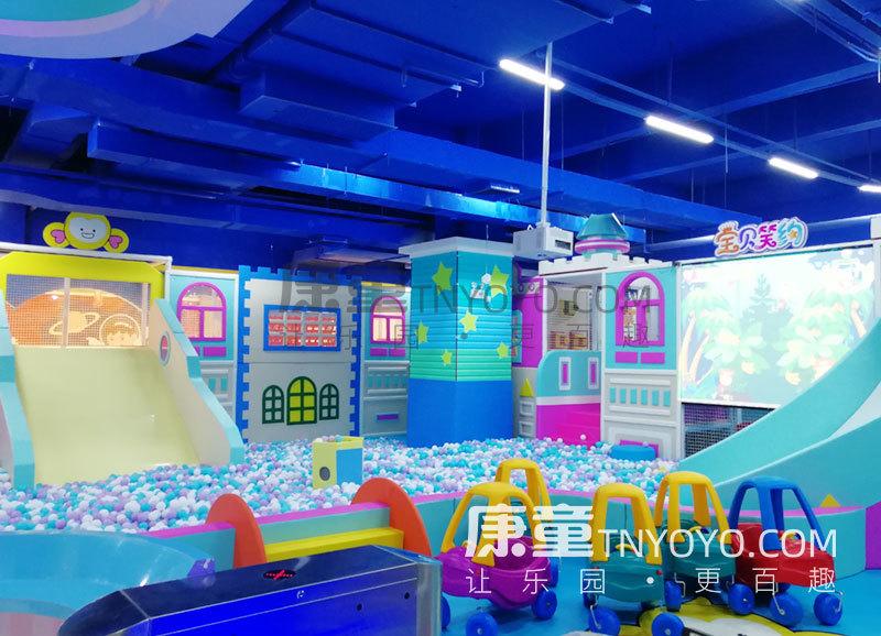 「定制案例」南宁宝贝笑约主题儿童乐园项目