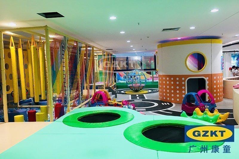森林丛林主题室内儿童乐园460㎡