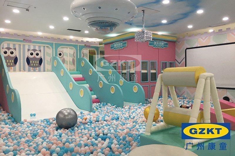 歡樂小鎮室內兒童樂園設計效果圖