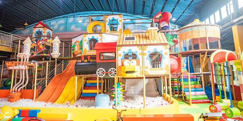 室内儿童乐园实景图