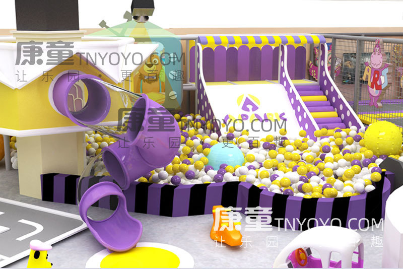儿童游乐场投资需要多少钱?200平儿童游乐场成本分析
