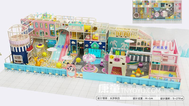 乡镇开室内儿童乐园可以吗?