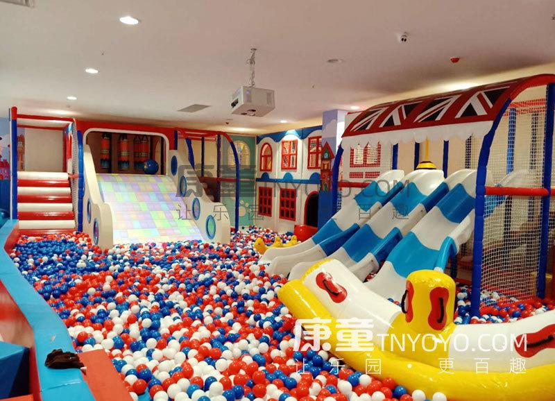 「定制案例」保定英伦主题儿童乐园