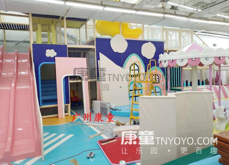 「定制案例」长沙朝阳儿童乐园