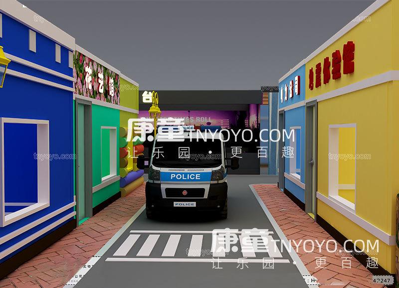 儿童模拟驾校效果图图片