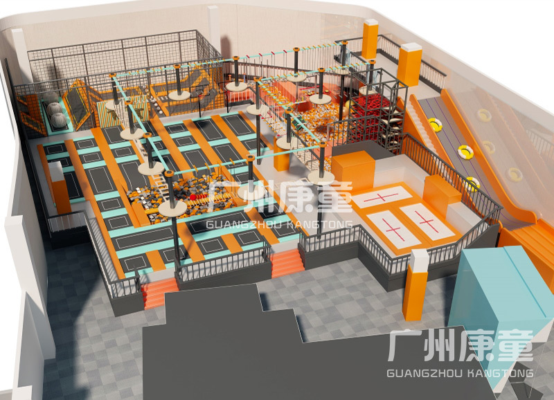 「定制案例」广东中山蹦床公园项目