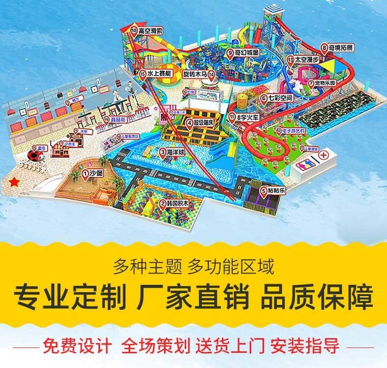 广州康童多主题定制淘气堡儿童游乐设备