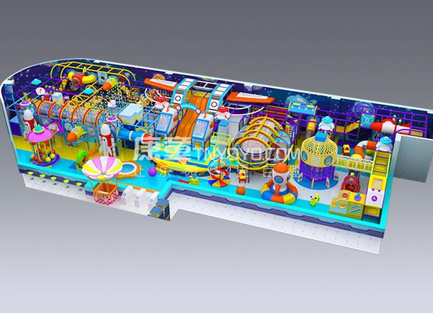太空主题淘气堡型号KT0401
