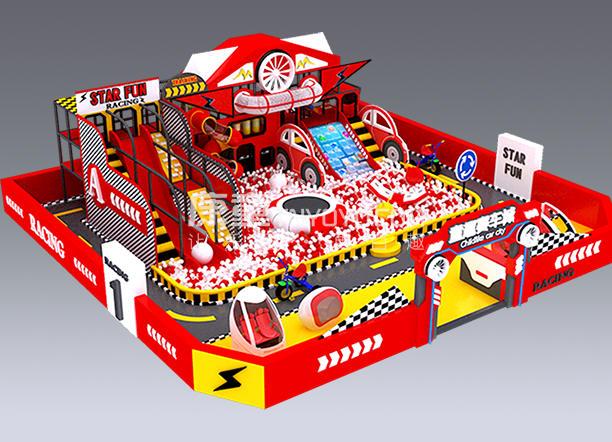 赛车主题淘气堡型号KT0601