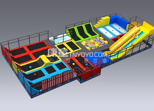 大型蹦床公园型号KT5001