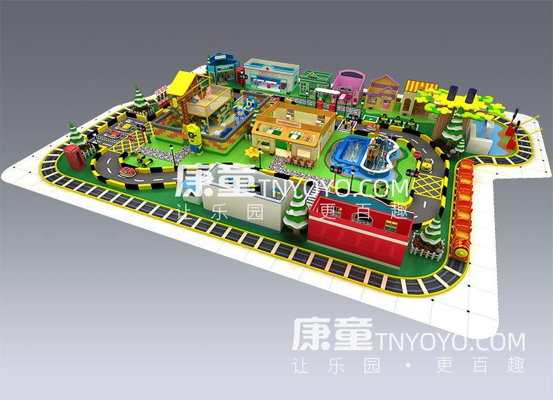 儿童职业小镇型号KT2001